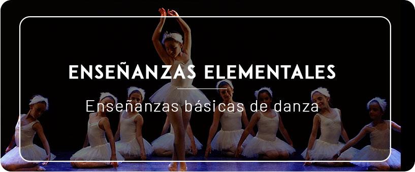Enseñanzas Elementales de danza en Málaga